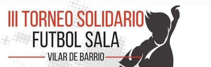 III Torneo solidario fútbol Sala