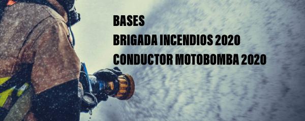 Contratación Temporal – Brigadas de incendio e conductores motobomba 2020